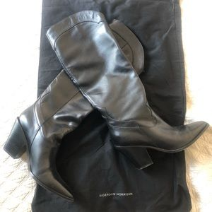 NEW Sigerson Morrison Ferry Square Toe Boots
